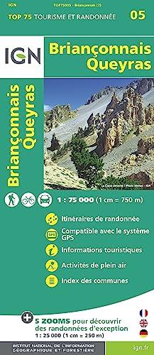 Brianconnais - Queyras 1 : 75 000