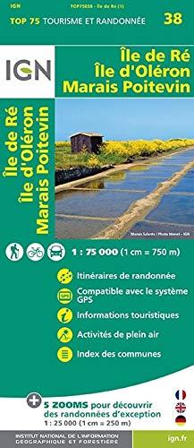 Île der Re Île D'Oléron 1 : 75 000