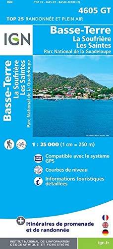 9782758533450: Basse-Terre/La Soufrière : 1/25000 (Série bleue)