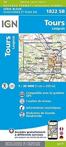 Tours Langeais 1 : 25000