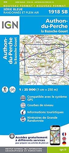 Authon du Perche / la Bazoche-Gouet 1 : 25 000
