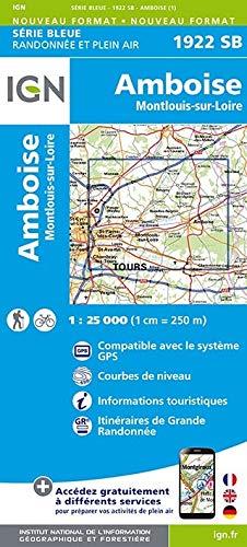 Amboise Montlouis 1 : 25000