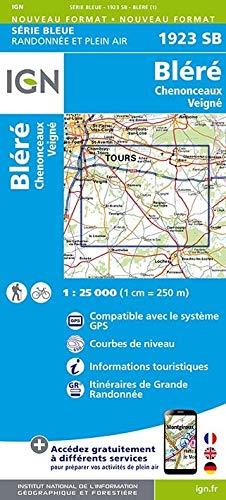 Bléré Chenonceaux 1 : 25 000