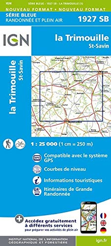 La Trimouille 1 : 25 000