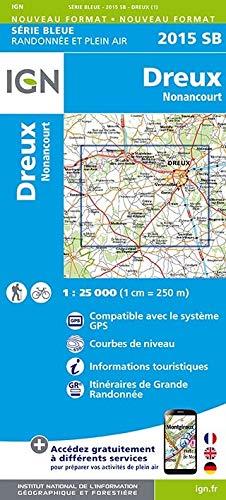 Dreux Nonancourt 1 : 25000