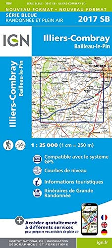 Illiers Combray 1 : 25 000