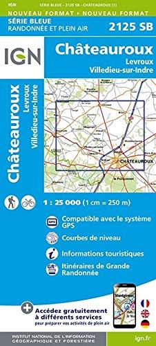 Châteauroux 1: 25 000