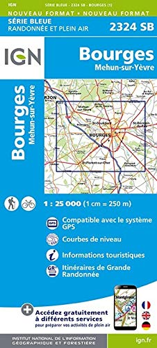 Bourges Mehun 1 : 25 000