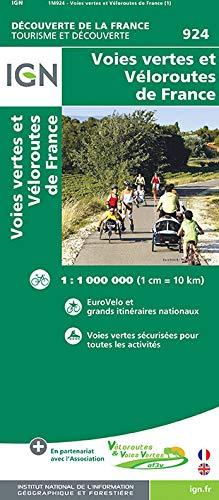 9782758534600: Veloroutes et voies vertes (Découverte de la France)