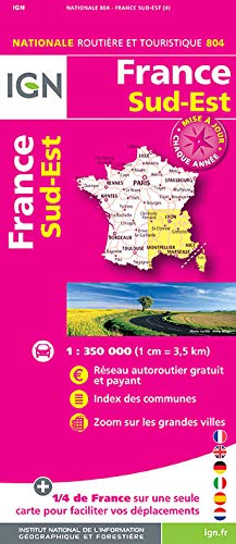9782758534853: France South East 2016: IGN-804 (French Edition)
