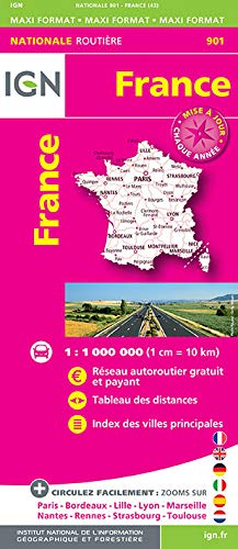9782758534860: France 2016 2016: IGN-901 (French Edition)