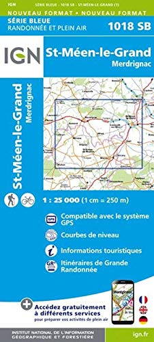 St.-Meen le Grand 1 : 25 000