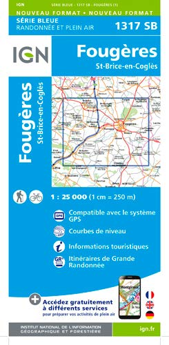Fougeres St.Brice 1 : 25 000