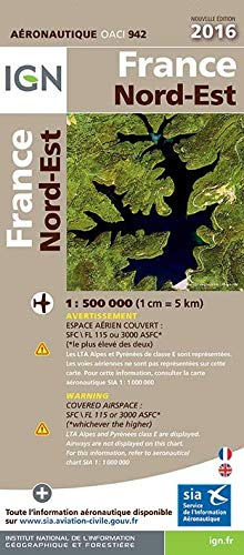 9782758535966: OACI France 2016 North-East 2016: IGN-OACI942