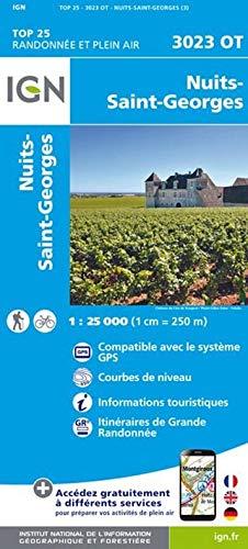 Nuits - Saint Georges 1 : 25 000