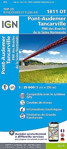 Pont-Audemer - Tancarville 1 : 25 000
