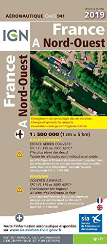 9782758547082: France Nord-Ouest : 1/500 000