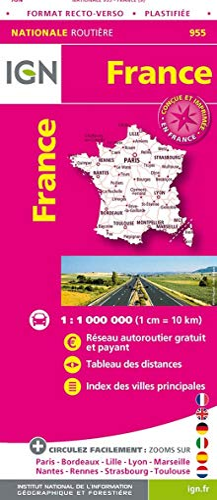 9782758549048: 955 FRANCE RECTO VERSO PLASTIFIEE MAXI FORMAT