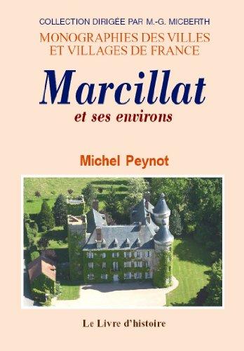 9782758602224: Marcillat et ses environs