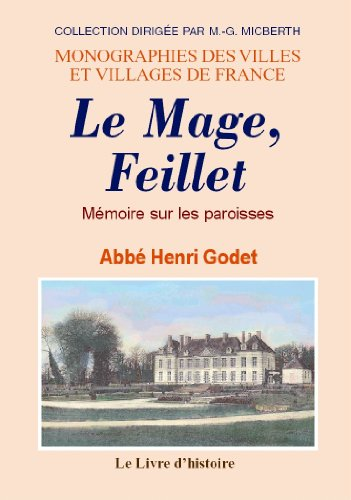 9782758604433: Le Mage et Feillet (Mémoire Sur les Paroisses de)