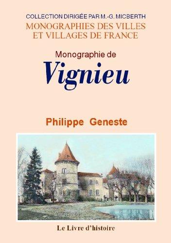 9782758605843: Vignieu (Monographie de)
