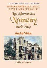 9782758608462: Nomeny (les Allemands a). Aout 1914