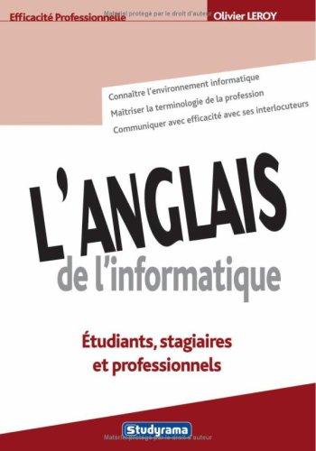 L'anglais de l'informatique (Vocatis langues: étudiants, stagiaires: LEROY, OLIVIER