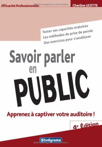 Savoir parler en public: Charline Licette