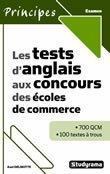 9782759002405: Les tests d'anglais aux concours des écoles de commerce