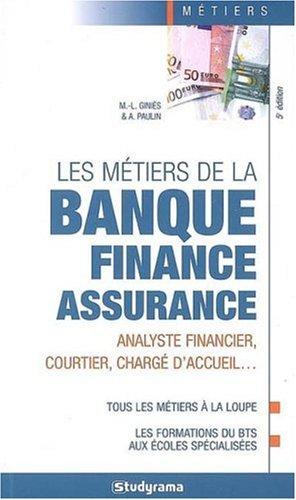 9782759002634: Les m�tiers de la banque - finance - assurance