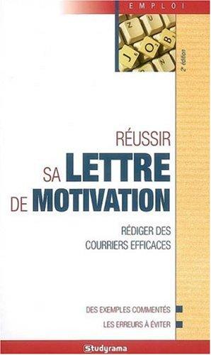 9782759003495: R�ussir sa lettre de motivation