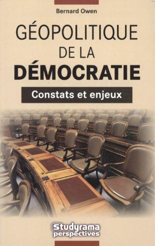 9782759004027: Géopolitique de la Democratie : constats et enjeux