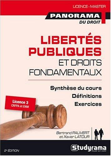 9782759004591: Libert�s publiques et droits fondamentaux