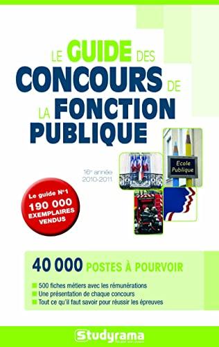 9782759006496: Le guide des concours de la fonction publique