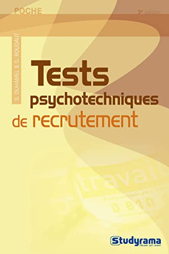 9782759007325: Tests psychotechniques de recrutement