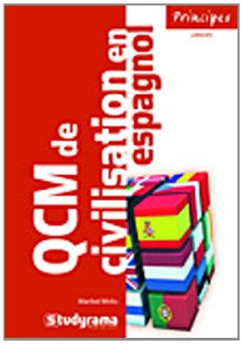 9782759010615: QCM de civilisation espagnole (Principes)