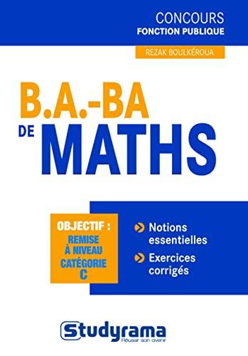 9782759011834: B.A. BA de maths