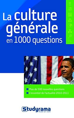 9782759011858: La culture générale en 1000 questions