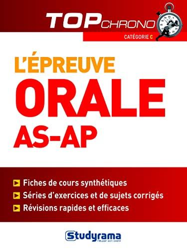 9782759011926: L'épreuve orale AS/AP