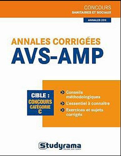 9782759013234: Annales corrig�es AMP/AVS