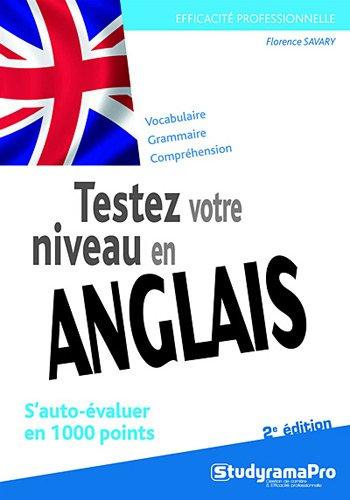 9782759016105: Testez votre niveau en anglais