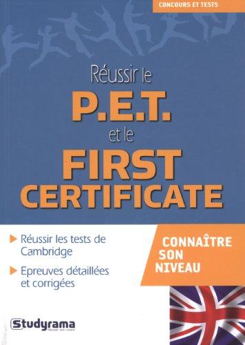 9782759016112: Réussir le PET et le First Certificate