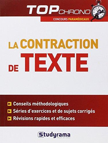 9782759017485: la contraction de texte