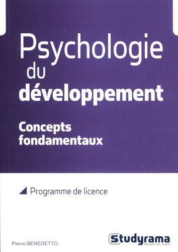 9782759022915: Psychologie du développement : Concepts fondamentaux