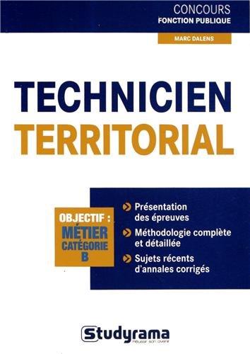 9782759023189: Technicien territorial