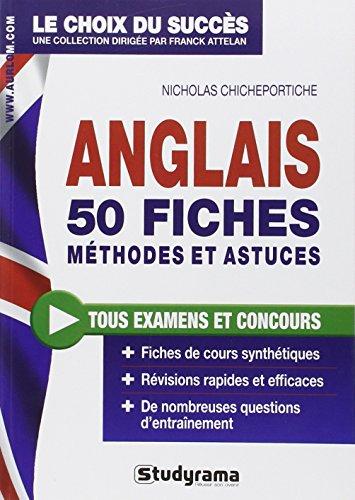9782759023561: Anglais : 50 fiches méthodes et astuces