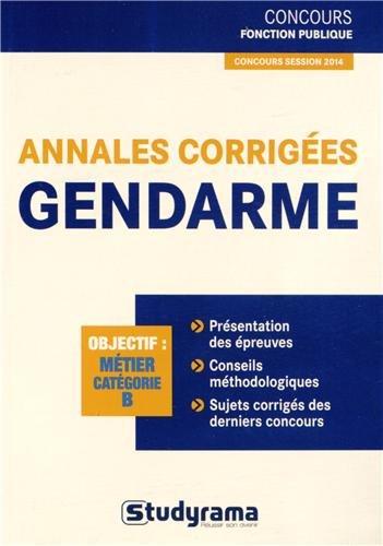 9782759023790: Annales corrigées gendarme