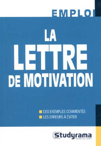 9782759023837: La lettre de motivation