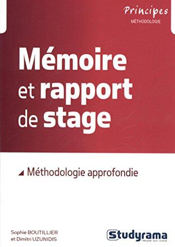 9782759025022: Mémoire et rapport de stage