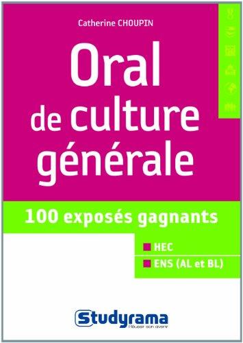 9782759025534: Oral de culture g�n�rale